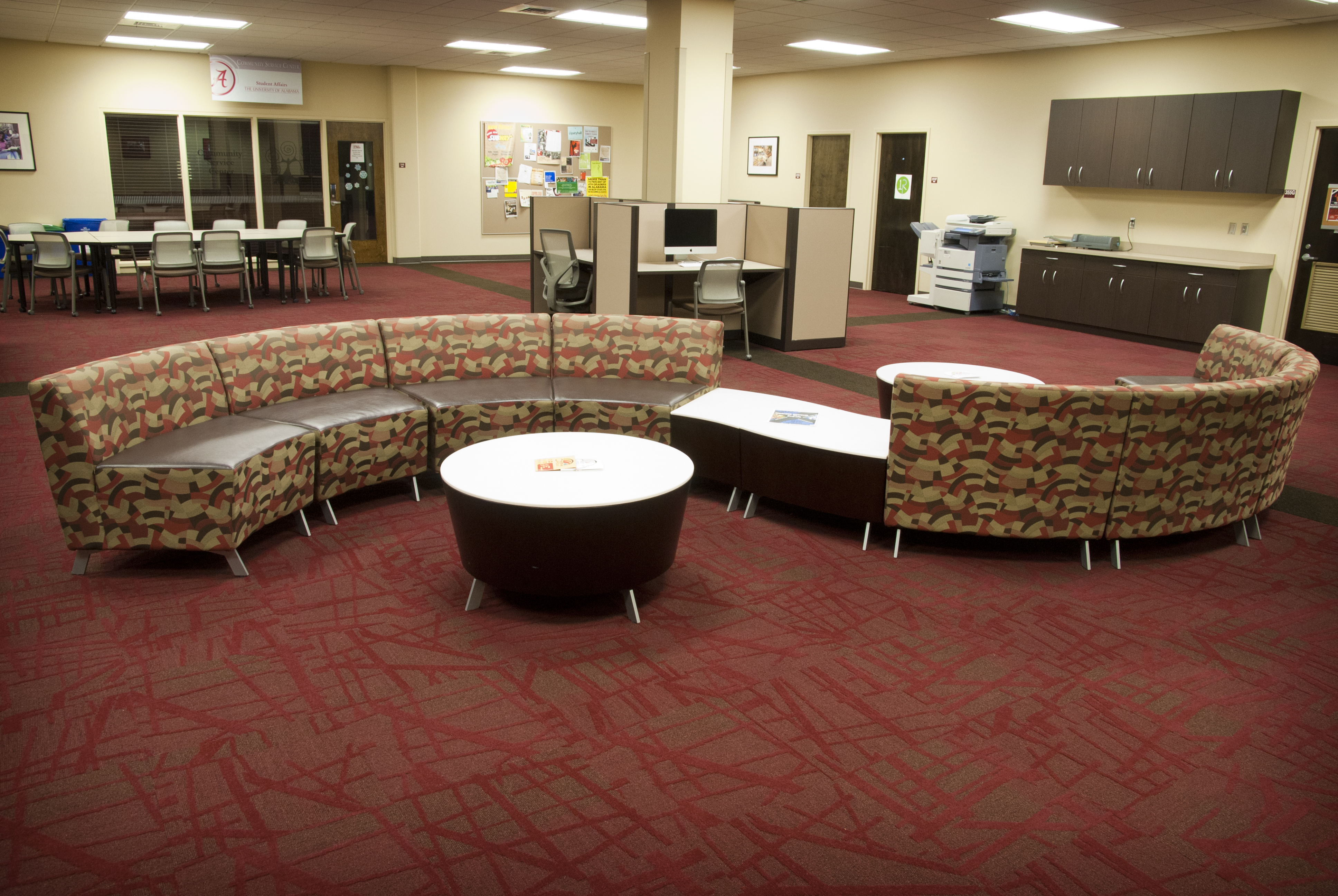 Support Spaces – Furnishings and Design | The University of Alabama